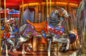 Carousel at Pier 39, San Francisco, CA