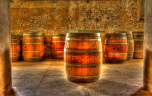 Barrels in Preston Castle