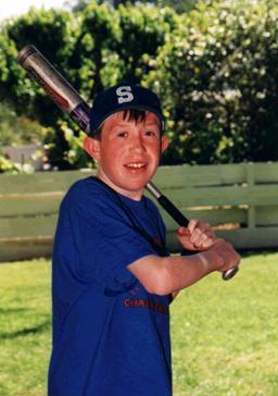 Justin baseball