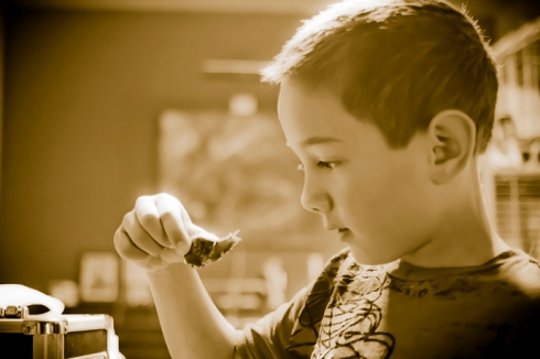 Austin and his snail