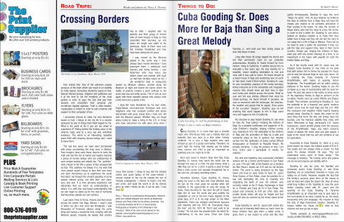 Crossing Borders Article