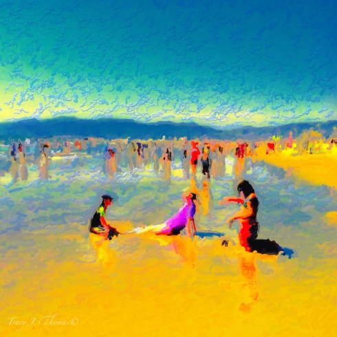 """Beach Time"" - ©Tracy J. Thomas, 2012. All rights reserved."