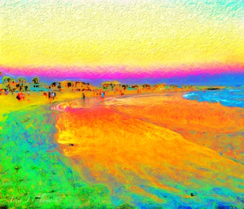 """Beachcomber's Paradise"" - ©Tracy J. Thomas, 2012. All rights reserved."