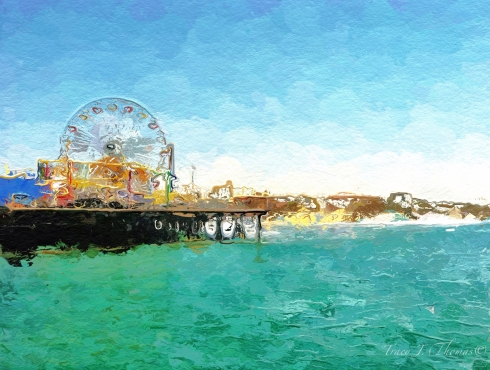 """The Pier"" - ©Tracy J. Thomas, 2012. All rights reserved."