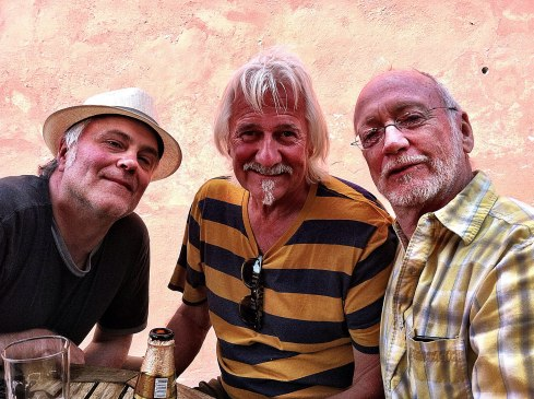 """The Three Amigos"" - Jon Ware, John Drake and Ken Ferris.  ©Tracy J. Thomas, 2013. All rights reserved."