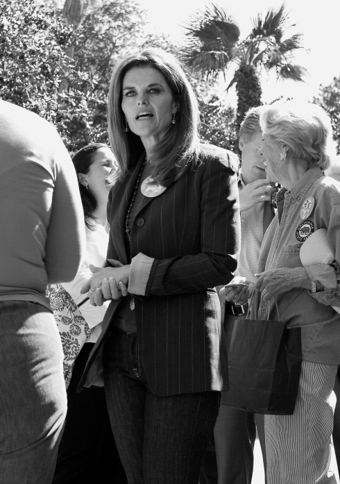Maria Shriver at Capitol Park, State Capitol, Sacramento - ©Tracy J. Thomas, 2013. All rights reserved.