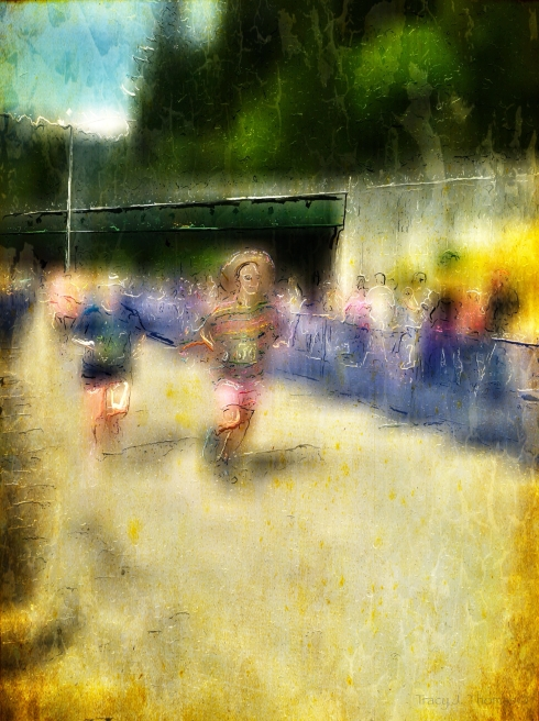 """The Runners"" - ©Tracy J. Thomas, 2013. All rights reserved."