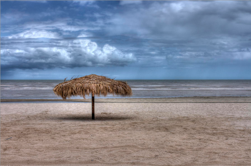 """Palapa at El Paraiso"" - ©Tracy J Thomas, 2014. All rights reserved."
