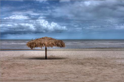 """""""Palapa at El Paraiso"""" - ©Tracy J Thomas, 2014. All rights reserved."""