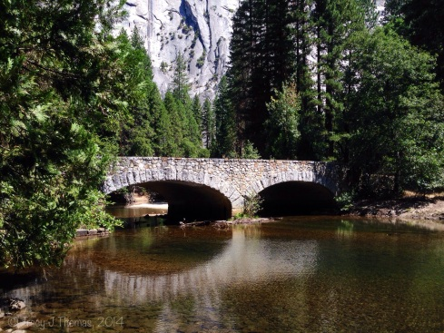 Bridge over the Tuolumne River. Yosemite National Park. ©Tracy J Thomas, 2014. All rights reserved.