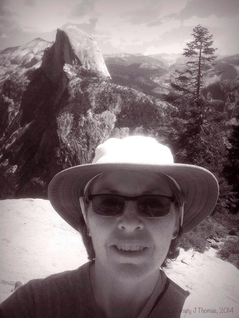 Yep, that's a selfie on top of Sentinel Dome. Yosemite National Park.